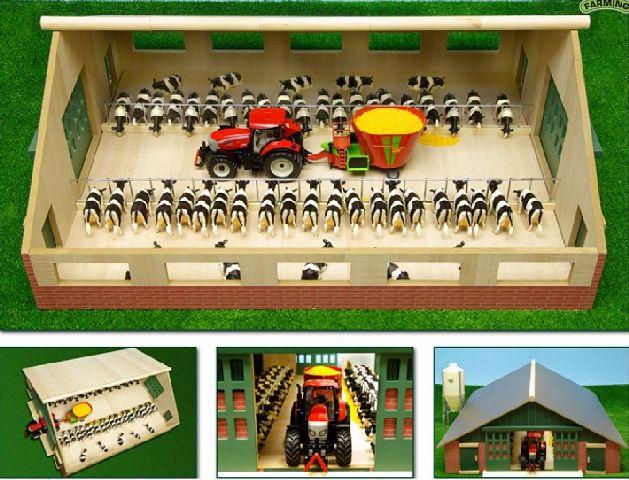 Jucarie lemn grajd de vaci 610540