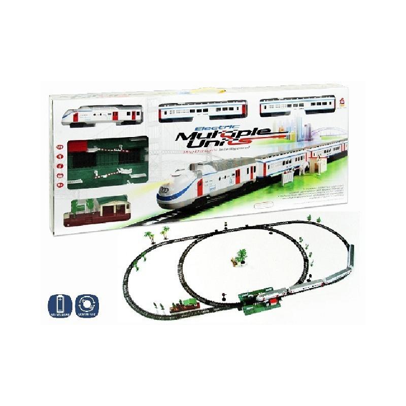 Set tren cu 2 vagoane si circuit de5.6m