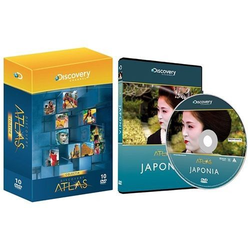 Discovery Atlas Discovery Atlas Colectie Digi-Box 11 DVD-uri