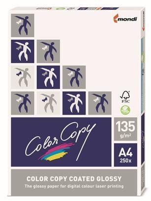 Carton lucios Color Copy A4,135g,250coli