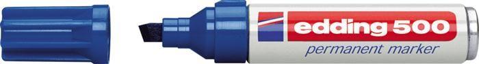 Marker perm.Edding 500,vf.2-7mm,albastru