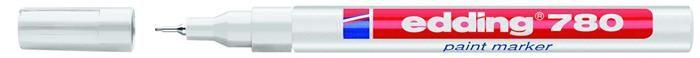 Paint marker Edding 780,0.8mm,alb