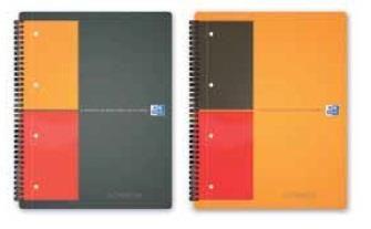 Caiet Oxford Activebook,spira,80f,A5+,mate