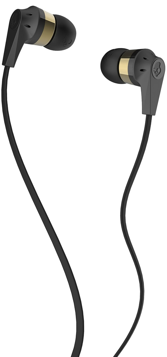 Casti Skullcandy Ink'd Gold Black