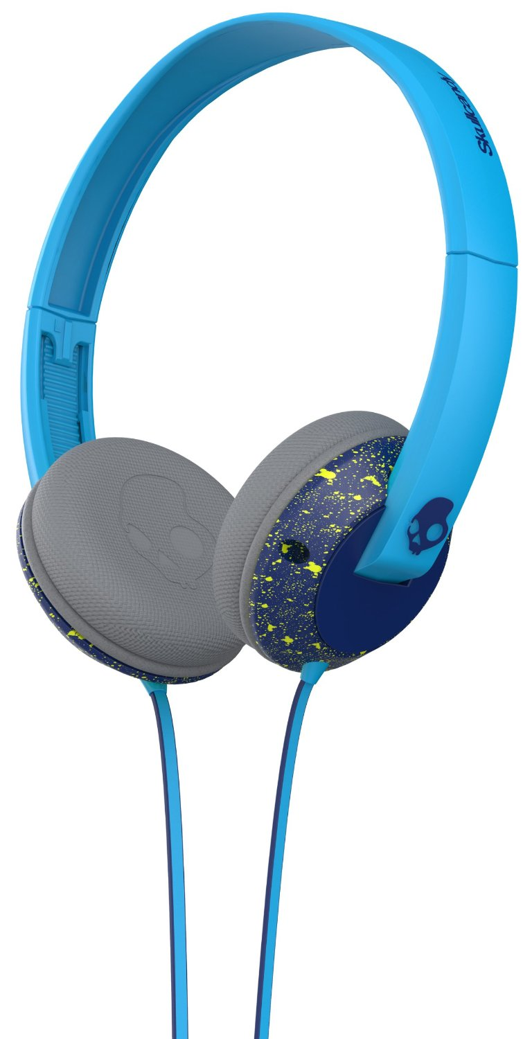 Casti Skullcandy Uprock Navy Hot Lime