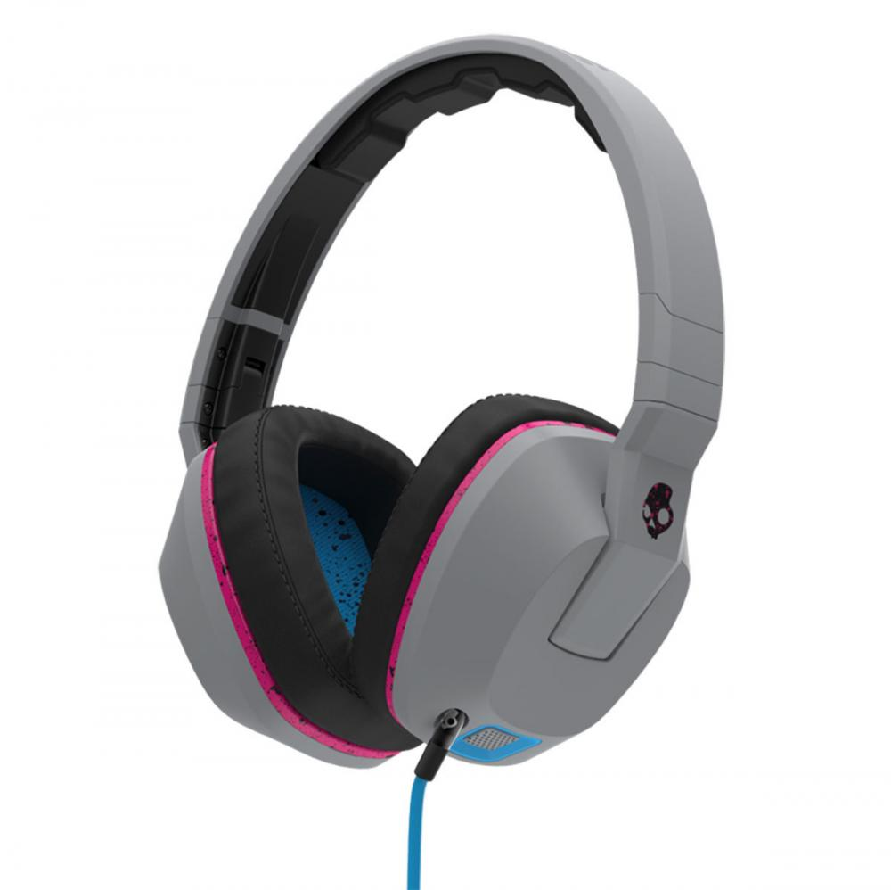 Casti Skullcandy Crusher Gray/Cyan/Black