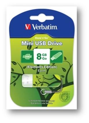 VERBATIM MINI USB 2.0 8GB...