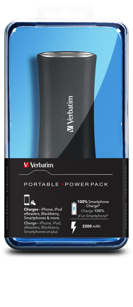 Portable Power Pack 2200mAh