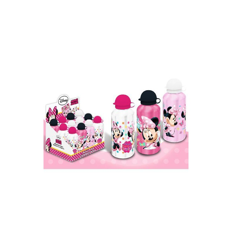 Bidonas apa,aluminiu,500ml,Minnie