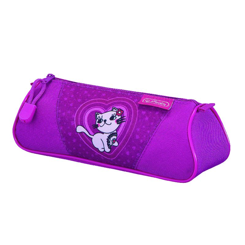 Pouch triunghiular Flexi,Kitty Cat