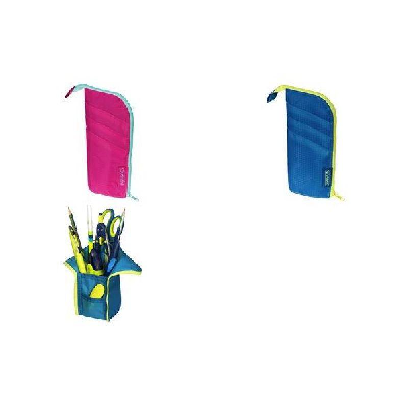 Penar suport instrumente,roz/turcoaz