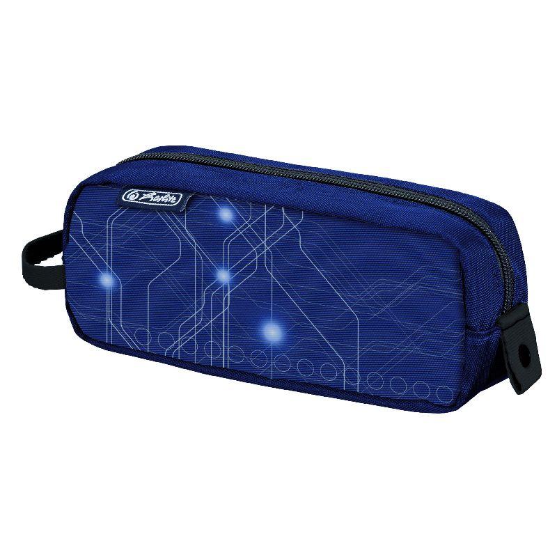 Pouch Be.Bag Quattro,Electric,albastru