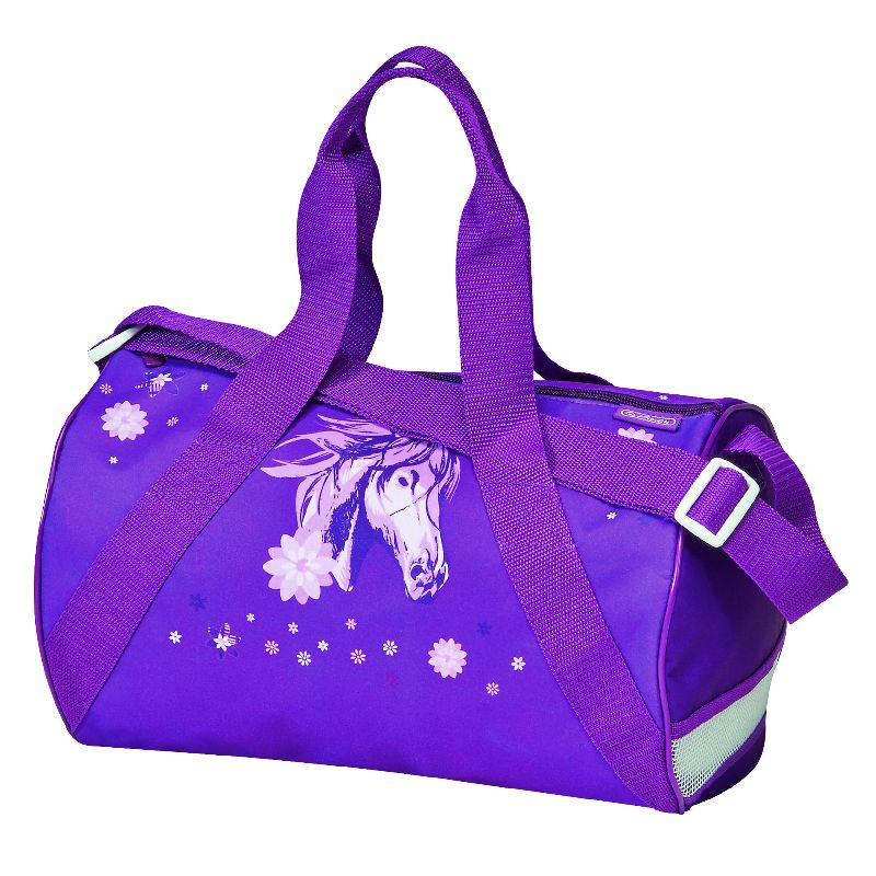 Geanta sport,35x22x23cm,Glitter Horse