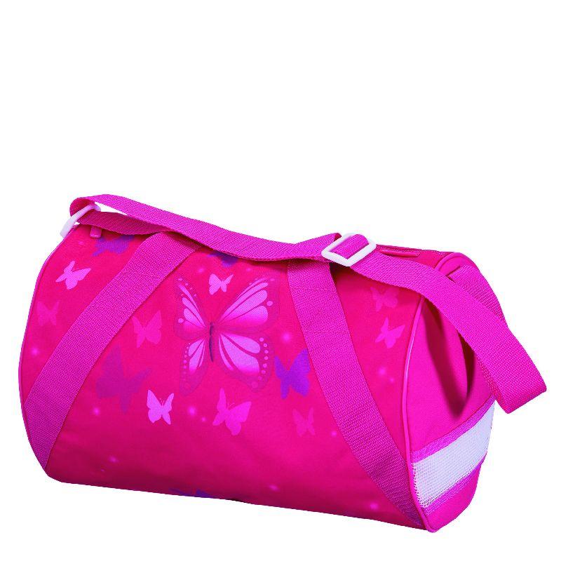 Geanta sport,35x22x23cm,Pink Butterfly