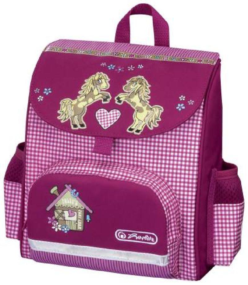 Ghiozdan Mini Softbag,26x24cm,Pony Farm