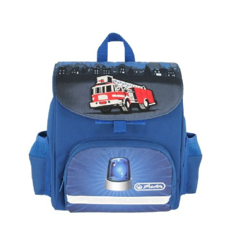 Ghiozdan Mini Softbag,26x24cm,Fire Truck