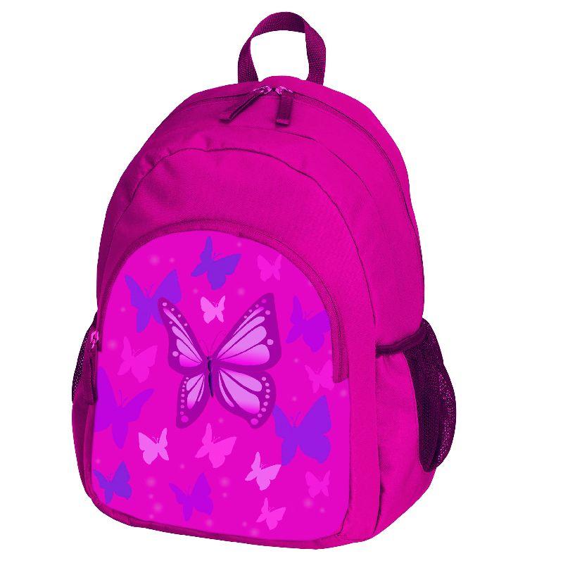 Rucsac scoala primara,Pink Butterfly