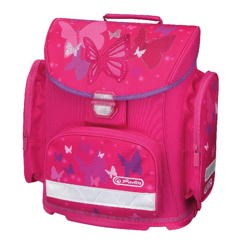 Ghiozdan Midi,37x38x22cm,Pink Butterfly