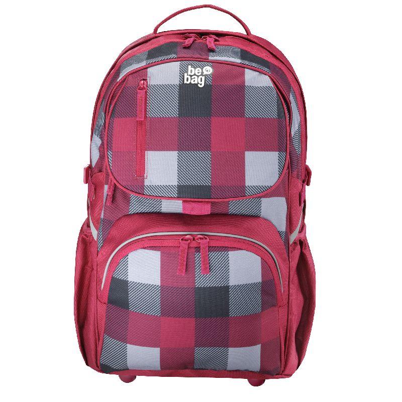 Rucsac Be.Bag Cube,carouri Burgund
