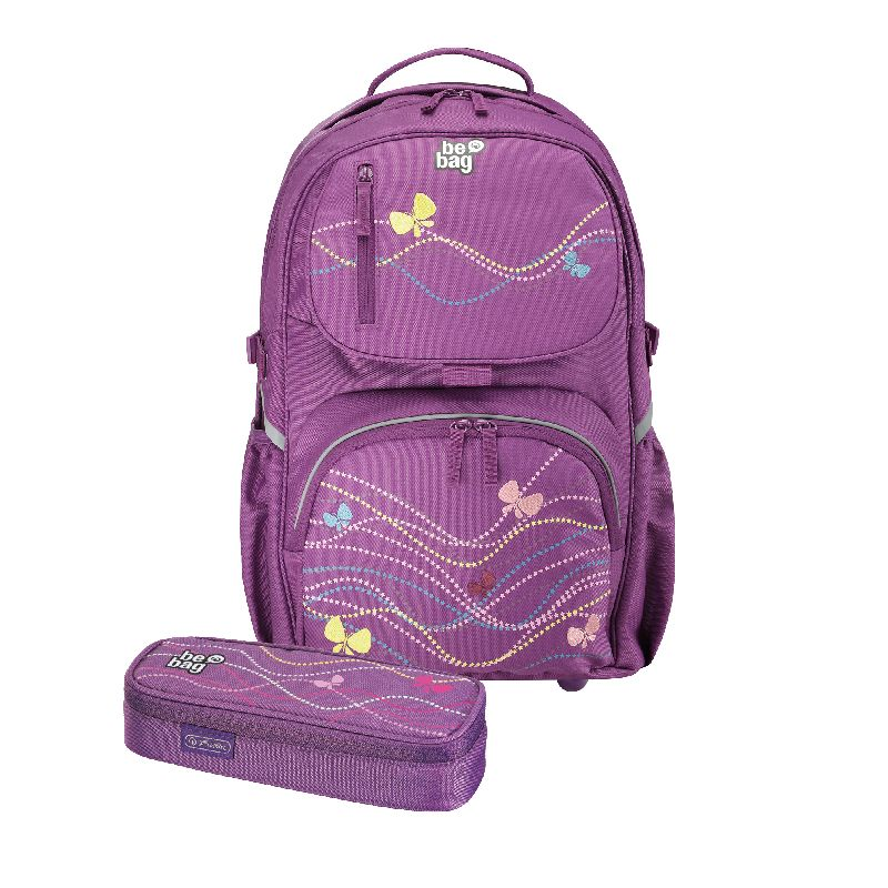 Rucsac Be.Bag Cube+pouch,Butterfly