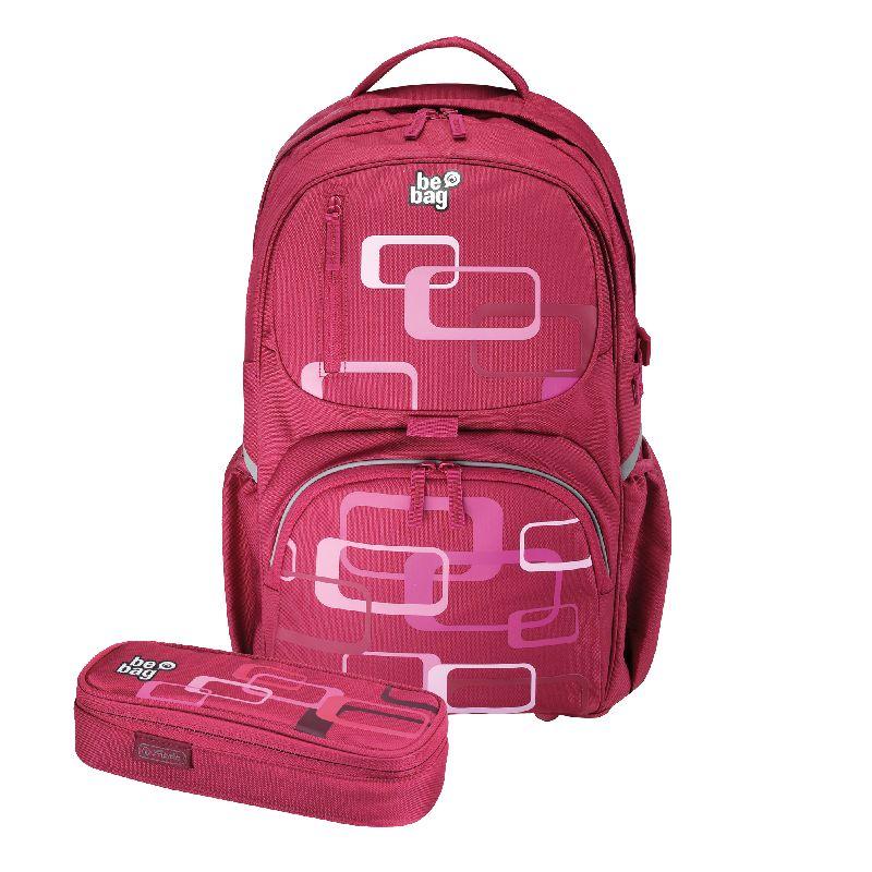 Rucsac Be.Bag Cube+pouch,Retro Bundle