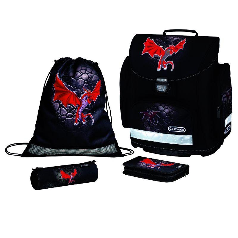 Ghiozdan echipat MidiPlus,Red Dragon