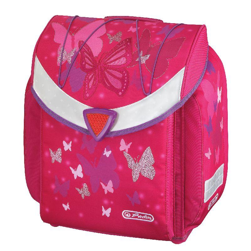 Ghiozdan Flexi,36x39x22cm,Pink Butterfly