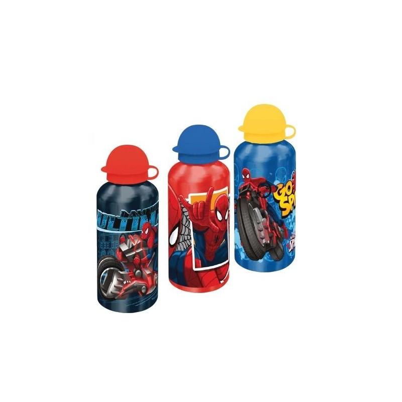 Bidonas apa,aluminiu,500ml,Spiderman
