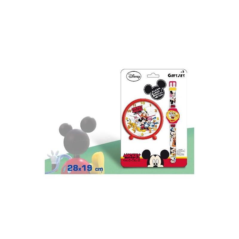 Set ceas mana+ceas masa,Mickey