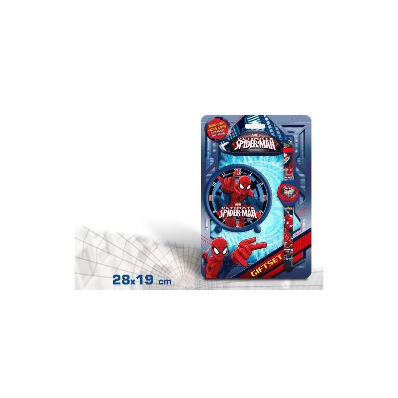 Set ceas mana+ceas masa,Spiderman