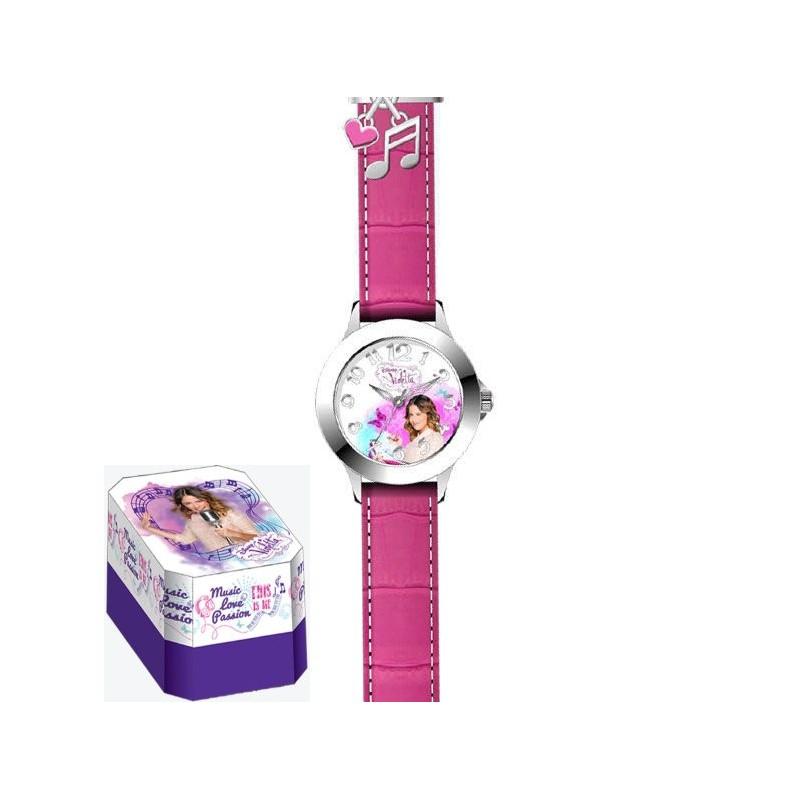 Ceas mana Premium,roz,Violetta