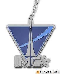 Keychain Titanfall - IMC Logo
