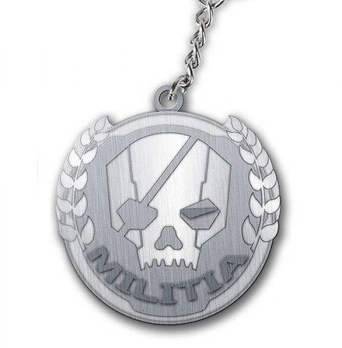 Keychain Titanfall - Militia logo