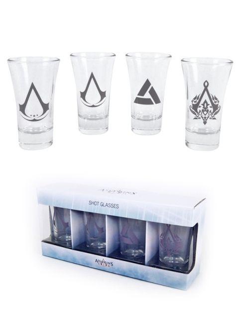 Shotglasses Assassins Creed  Set of 4