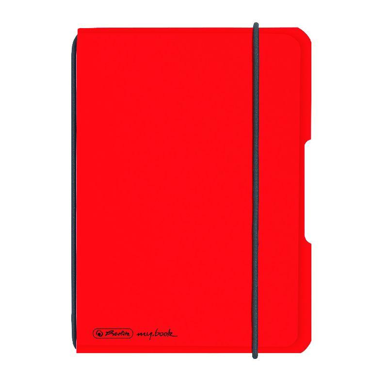 Caiet A6,My.Book Flex,40f,mate,rosu