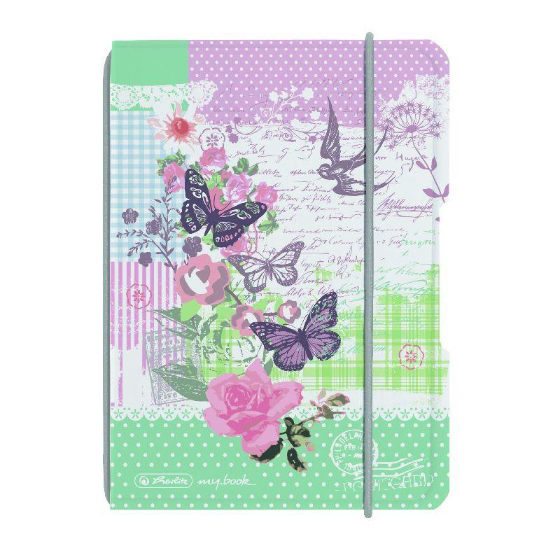 Caiet A6,My.Book Flex,40f,dict,Butterfly