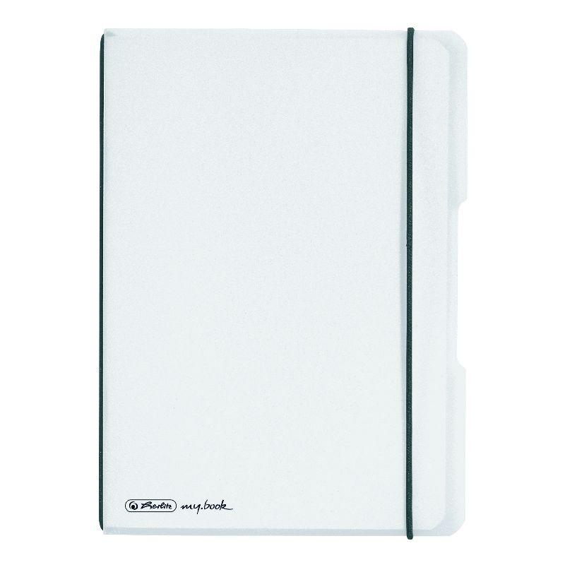 Caiet A6,My.Book Flex,2x40f,d+m,trasparent