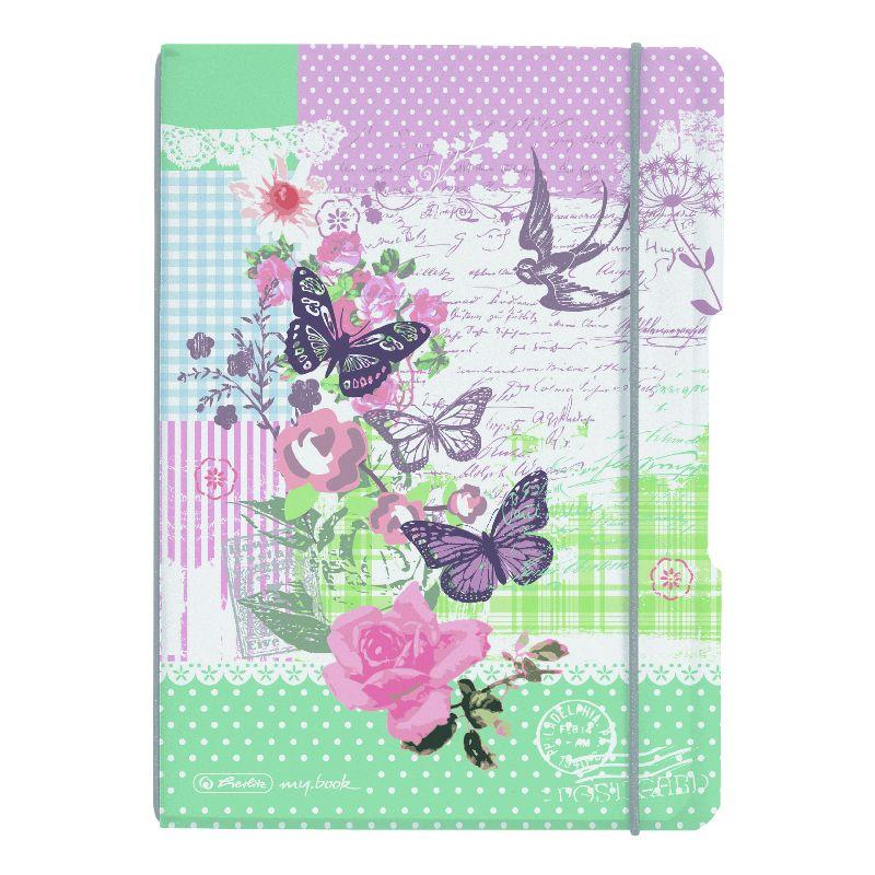 Caiet A6,My.Book Flex,2x40f,d+m,Butterfly