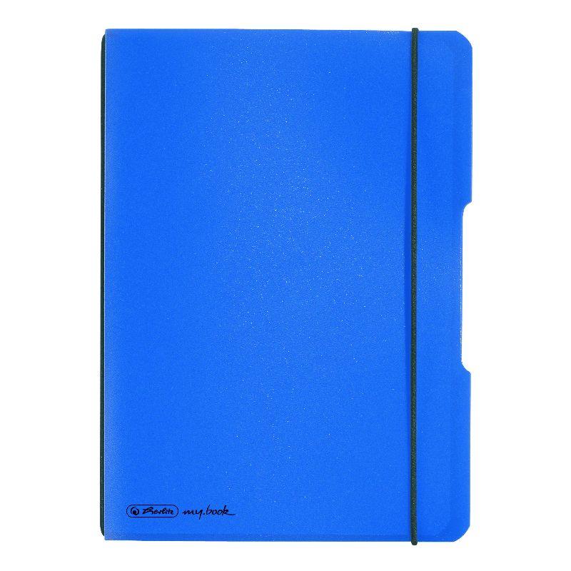 Caiet A6,My.Book Flex,2x40f,d+m,albastru