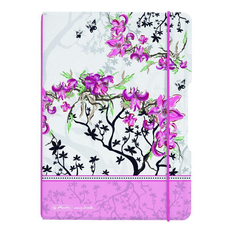 Caiet A6,My.Book Flex,2x40f,d+m,Bloom