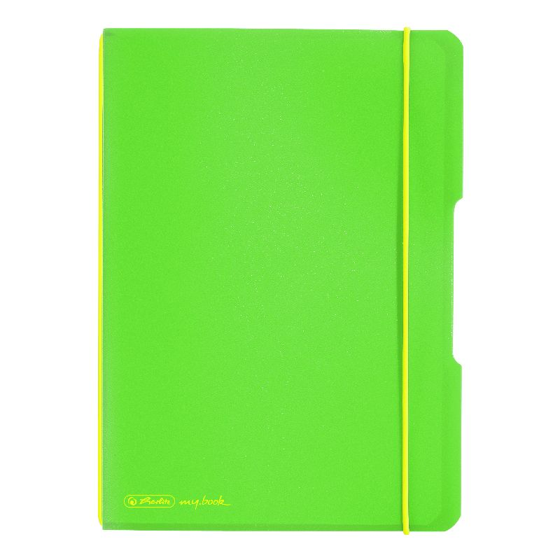 Caiet A4,My.Book Flex,40f,mate,verde