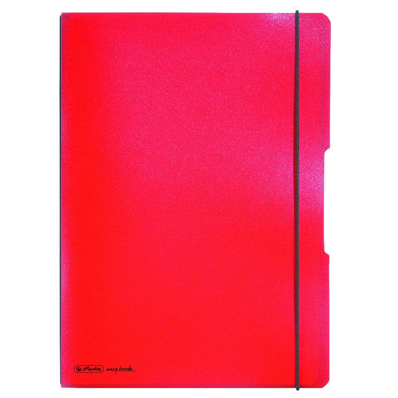 Caiet A4,My.Book Flex,2x40f,d+m,rosu