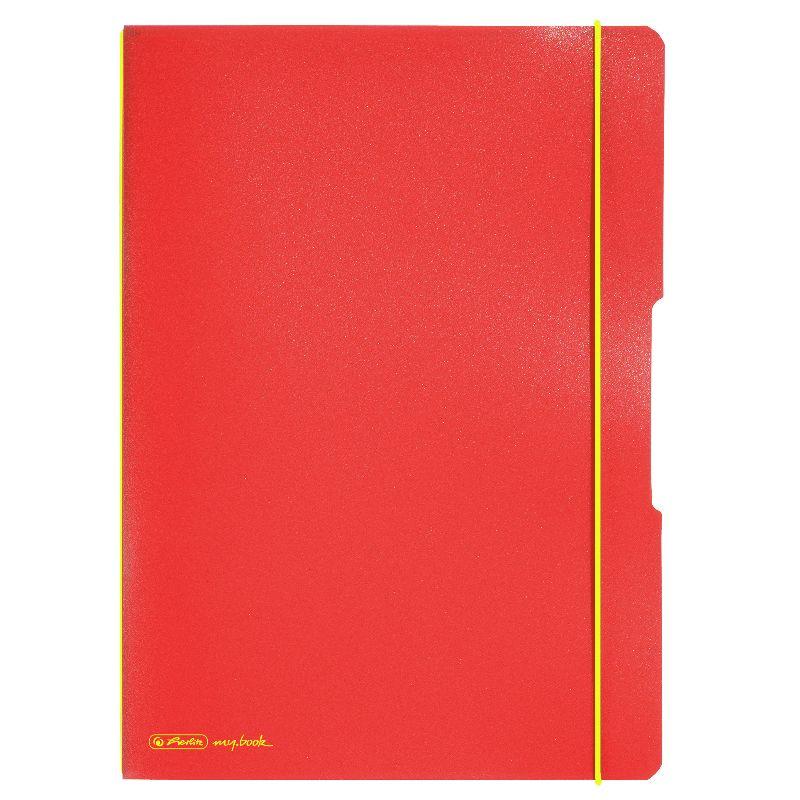 Caiet A4,My.Book Flex,2x40f,d+m,portocaliu