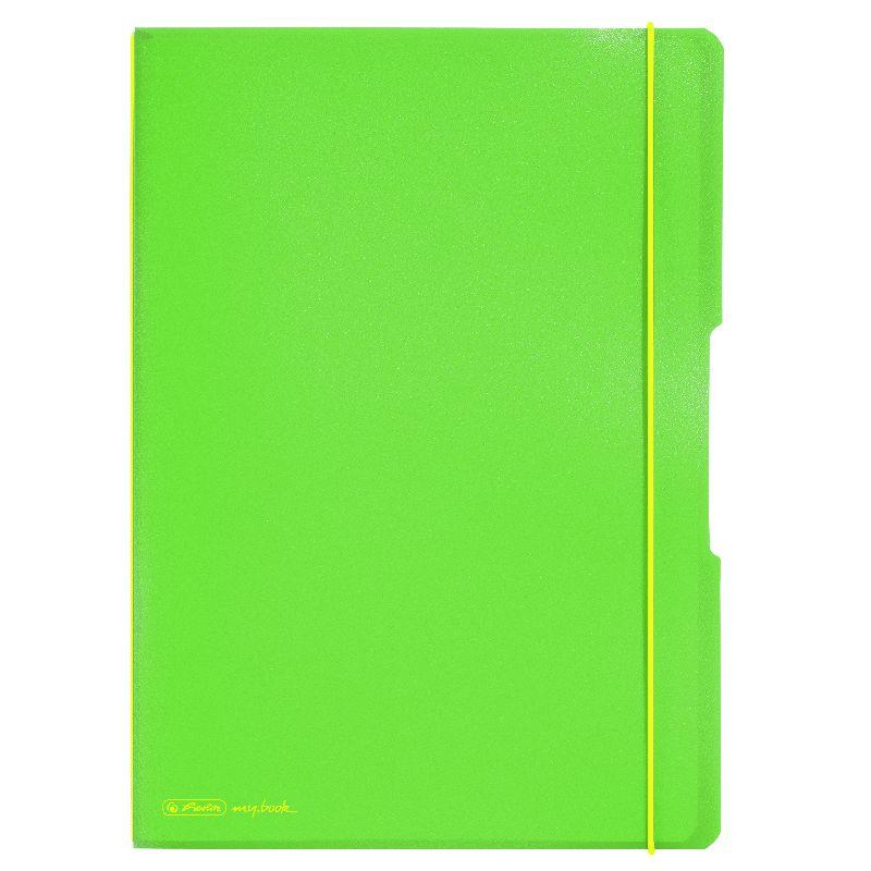 Caiet A4,My.Book Flex,2x40f,d+m,verde