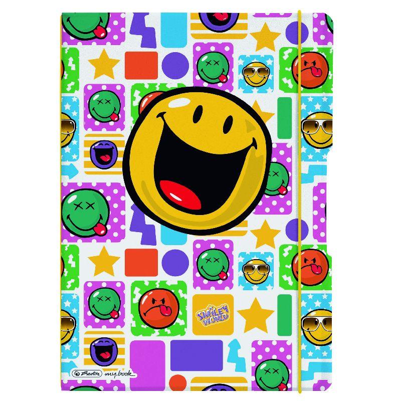Caiet A4,My.Book Flex,2x40f,d+m,SmileyHappy