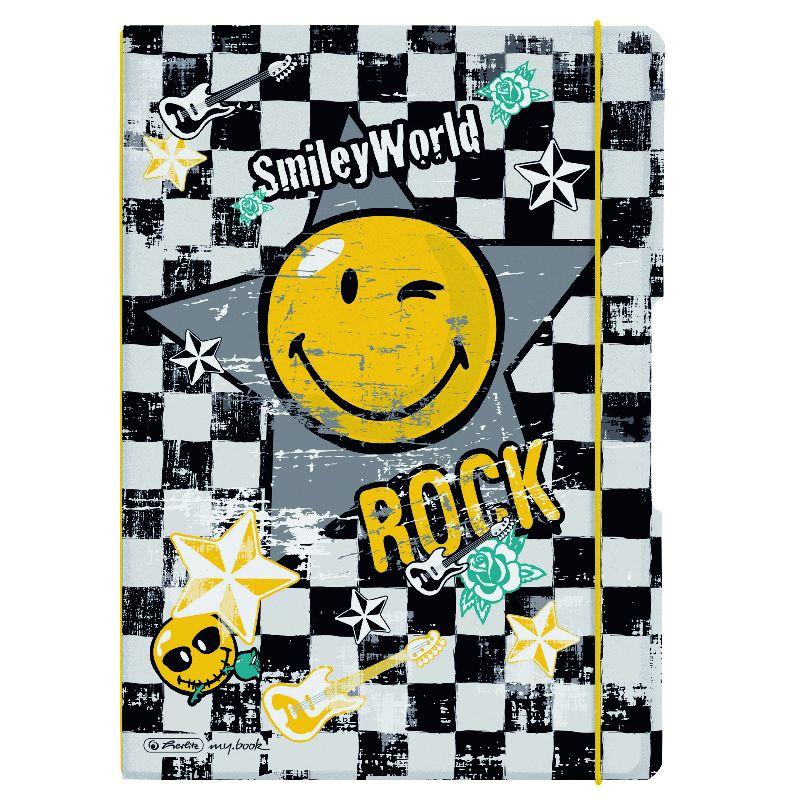 Caiet A4,My.Book Flex,2x40f,d+m,SmileyRock
