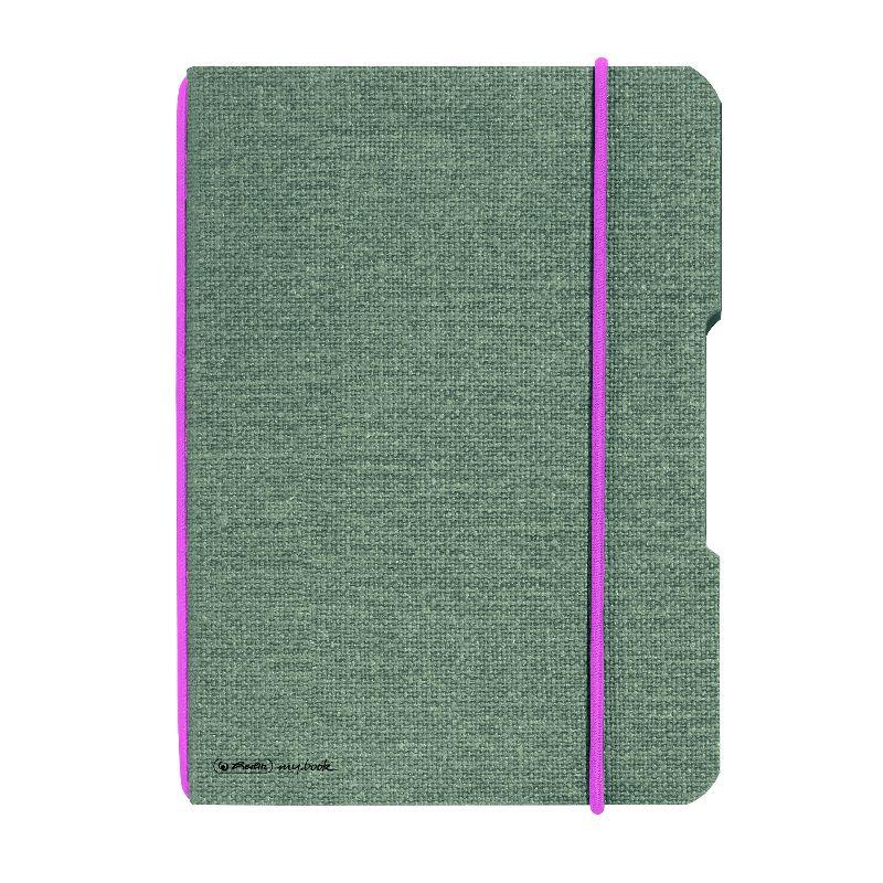 Caiet A6,My.Book Flex,40f,mate,gri