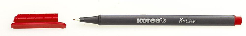 Liner Kores K-Liner,0.4mm,rosu