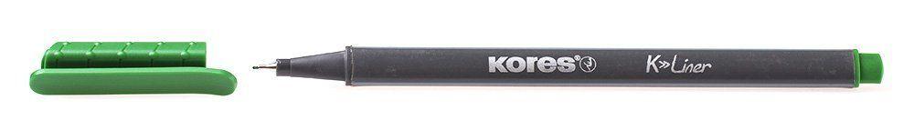 Liner Kores K-Liner,0.4mm,verde