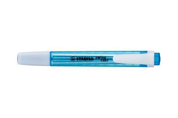 Textmarker Stabilo Swing Cool,albastru